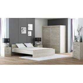 Zestaw mebli do sypialni w stylu nowoczesnym JRO1