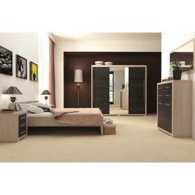 Zestaw mebli w stylu nowoczesnym do sypialni JRV2