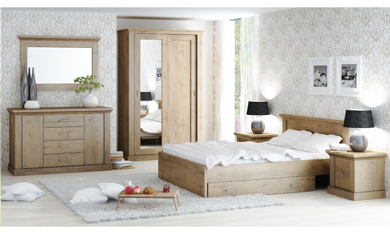 Zestaw mebli do sypialni w stylu klasycznym Antica 1