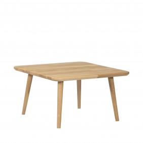 Dębowy, kwadratowy stolik (60x60 cm) wys. 34-54 cm Modern Oak