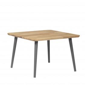 Dębowy, kwadratowy stolik (70x70 cm) wys. 34-54 cm Modern Oak