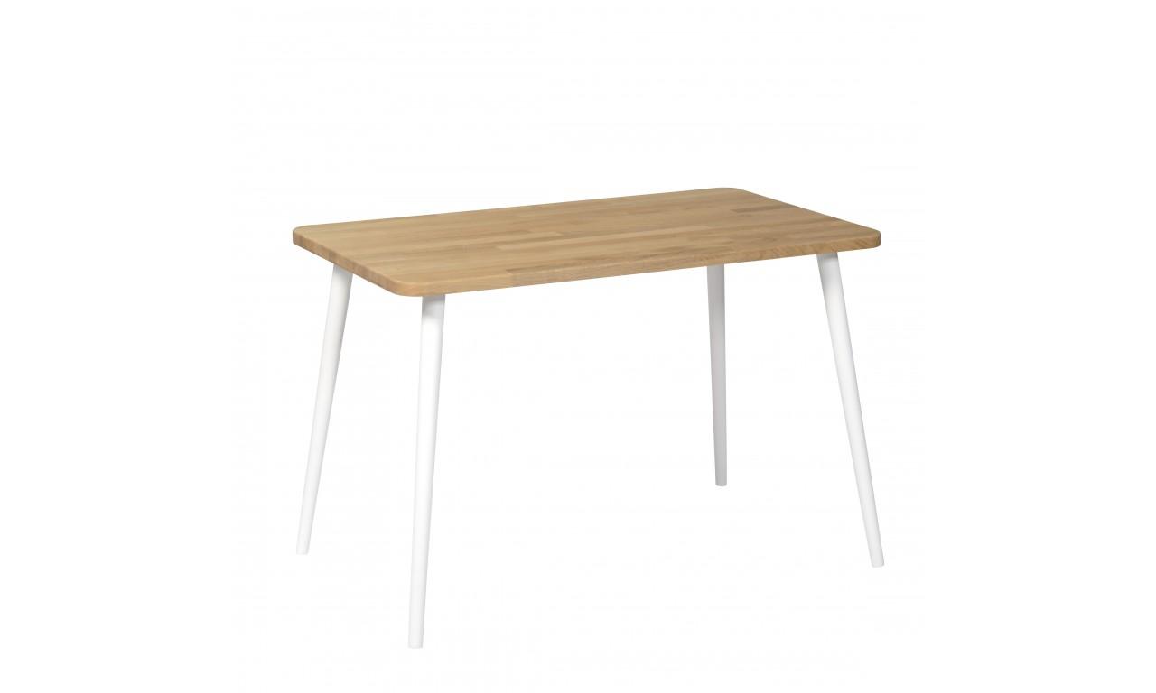 Dębowy, prostokątny stół (60x100 cm) wys. 67-75 cm Modern Oak