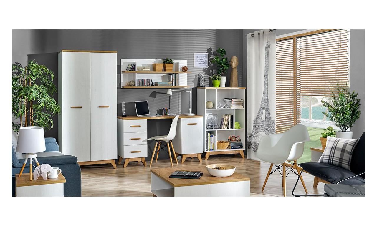 Półka wisząca w stylu skandynawskim Sven SV16