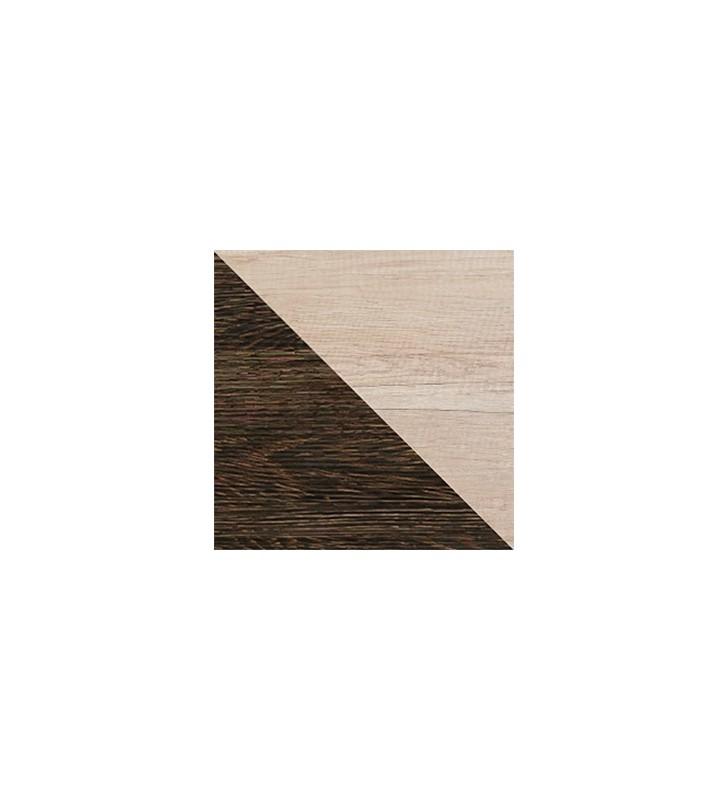 Brązowa szafa do salonu (prawa) ROMERO R1P