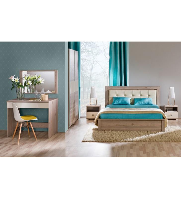 Zestaw mebli do sypialni w stylu nowoczesnym VERTO F