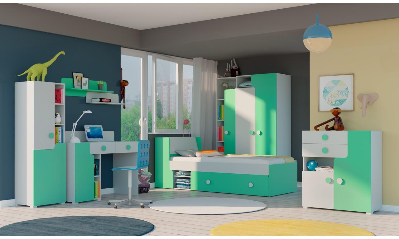 Komoda do pokoju starszego dziecka w kilku propozycjach kolorystycznych YUKO Y7