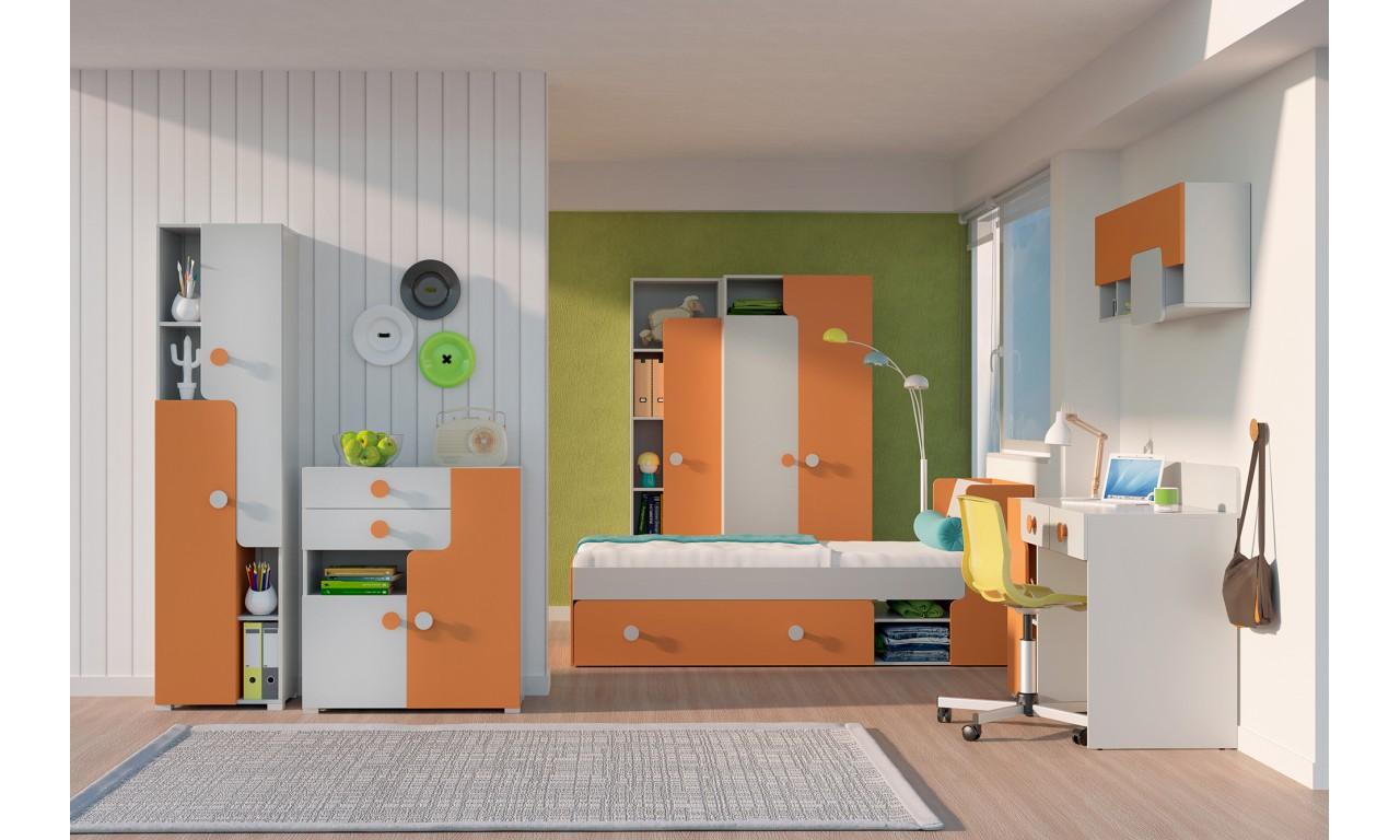 Półka wisząca w kilku propozycjach kolorystycznych YUKO Y14