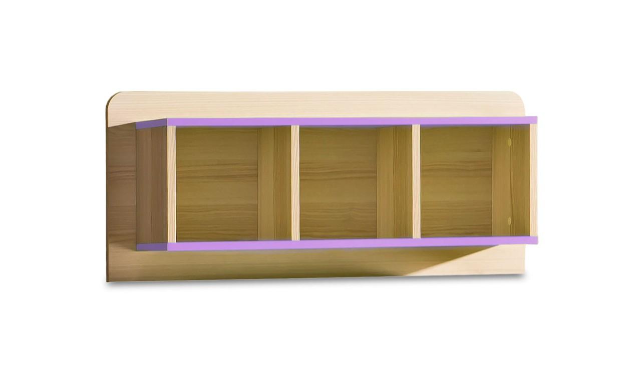 Półka wisząca do pokoju starszego dziecka LORENTO L9