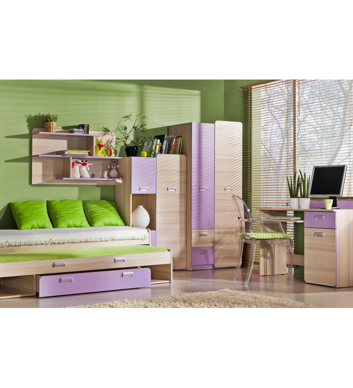 Biurko do pokoju starszego dziecka LORENTO L10