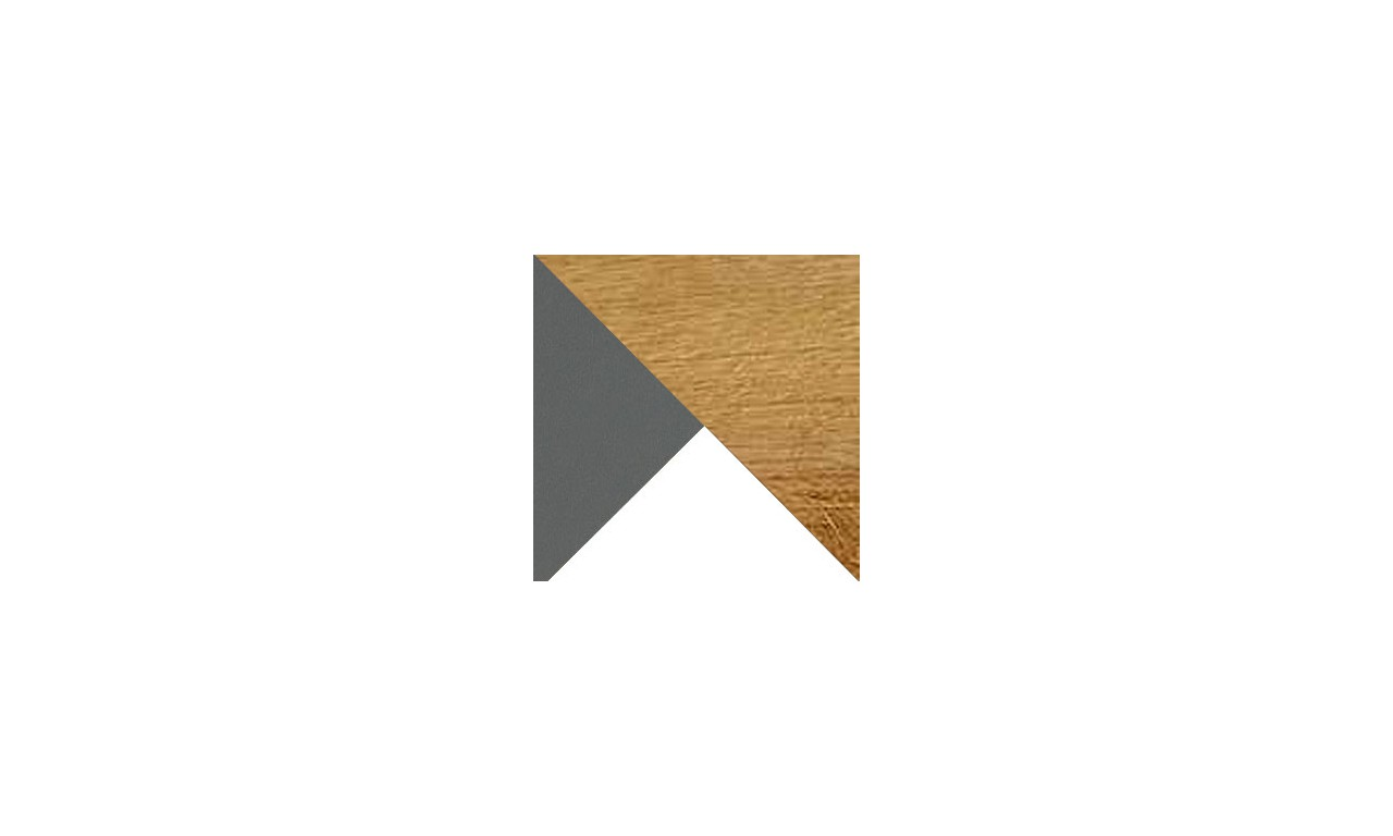 Regał półotwarty w stylu retro i odważnej kolorystyce WERSO W3