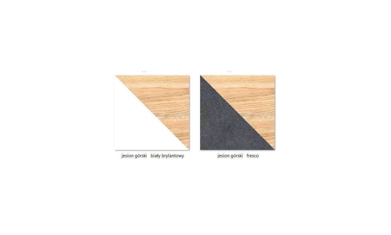 Wąska szafa - fuzja stylów skandynawskiego i nowoczesnego GAPPA GA2