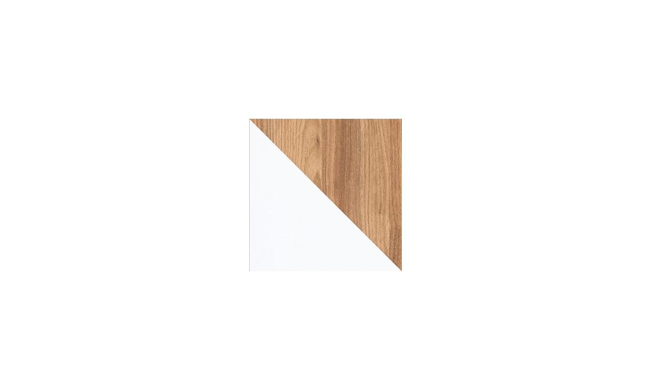 Biała szafa w stylu nowoczesnym EVADO E1