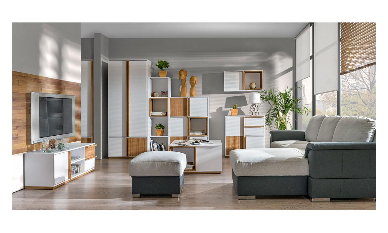 Zestaw mebli w stylu nowoczesnym do salonu EVADO B