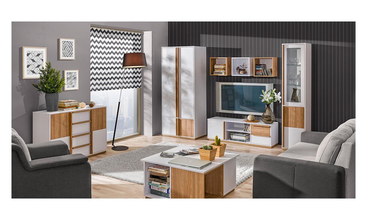 Zestaw mebli w stylu nowoczesnym do salonu EVADO C