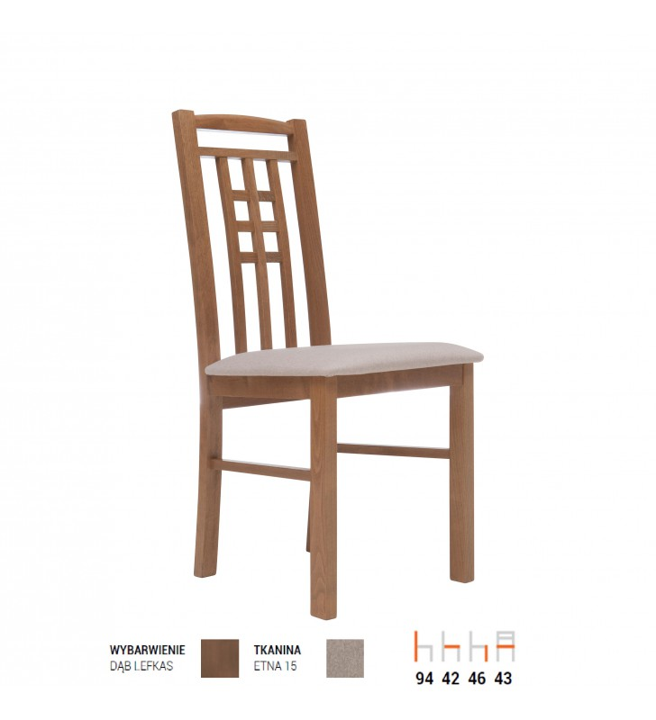 Krzesło bukowe, tapicerowane lub twarde, KT31