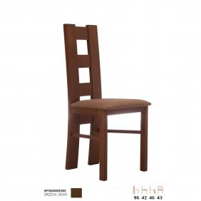 Krzesło bukowe, tapicerowane lub twarde, KT39