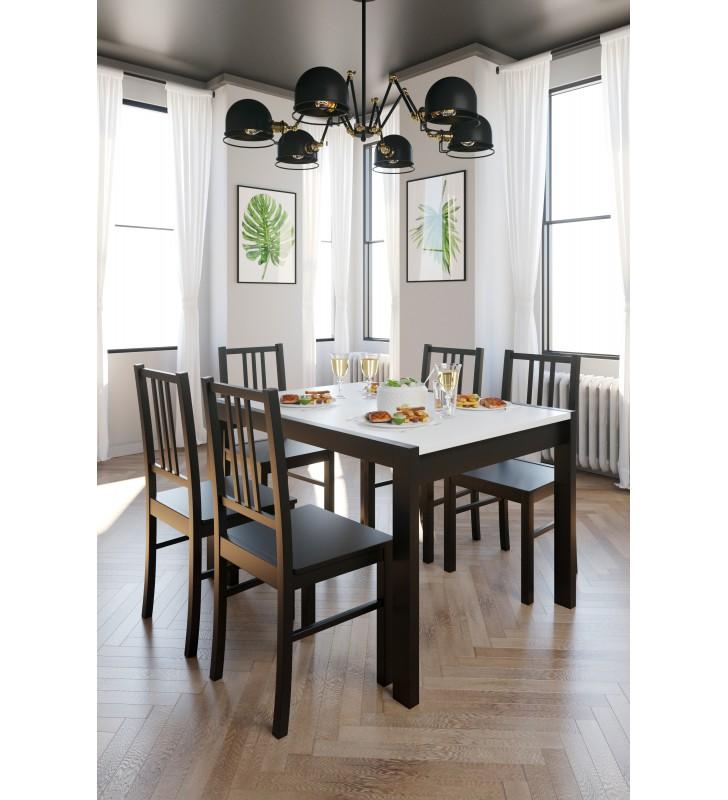 Krzesło bukowe, tapicerowane lub twarde, KT55