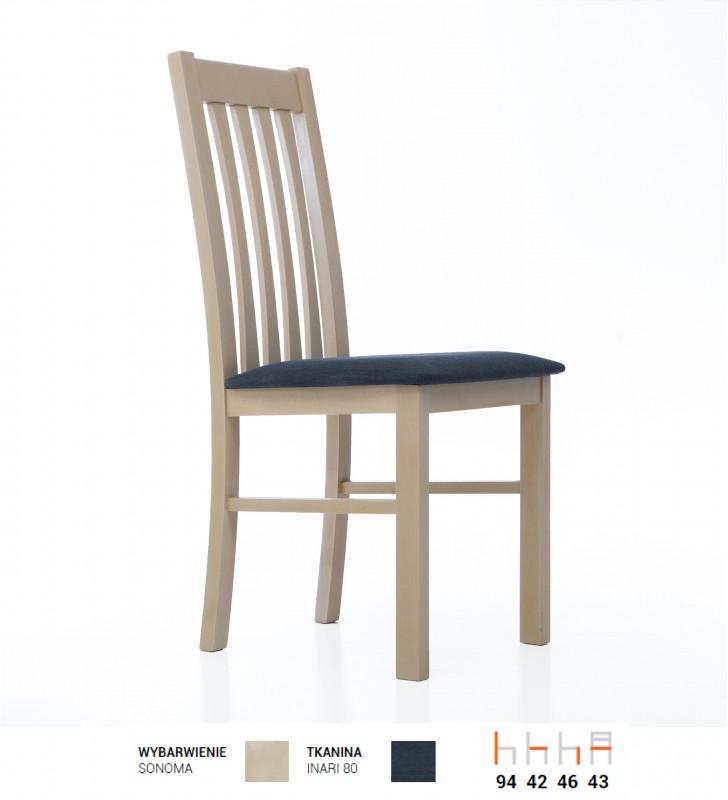 Krzesło bukowe, tapicerowane lub twarde, KT56