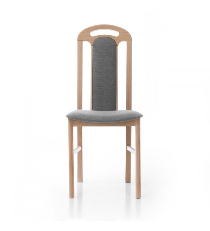 Krzesło bukowe, tapicerowane, KT03
