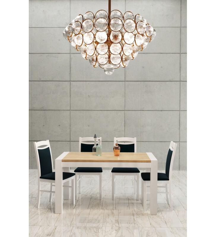 Krzesło bukowe, tapicerowane, KT04