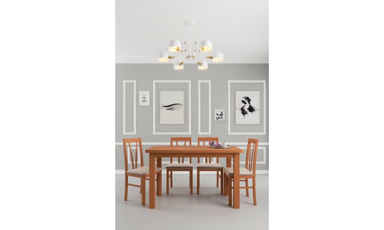 Krzesło bukowe, tapicerowane, KT15