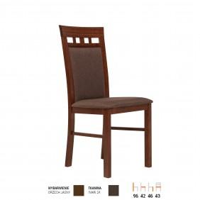 Krzesło bukowe, tapicerowane, KT21