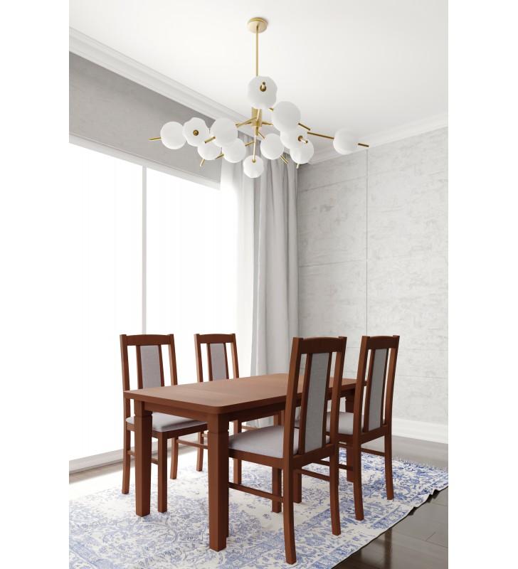 Krzesło bukowe, tapicerowane, KT26