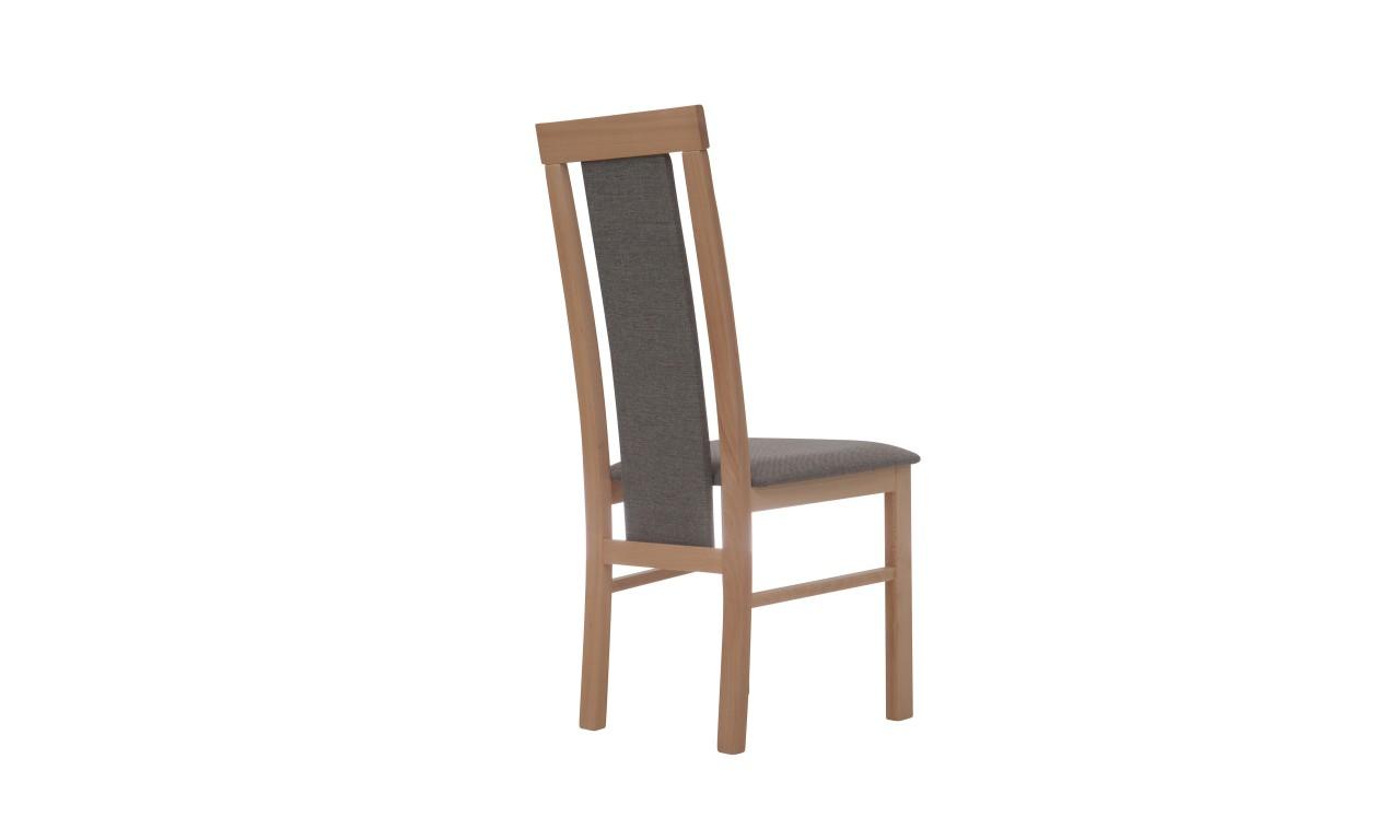 Krzesło bukowe, tapicerowane, KT30