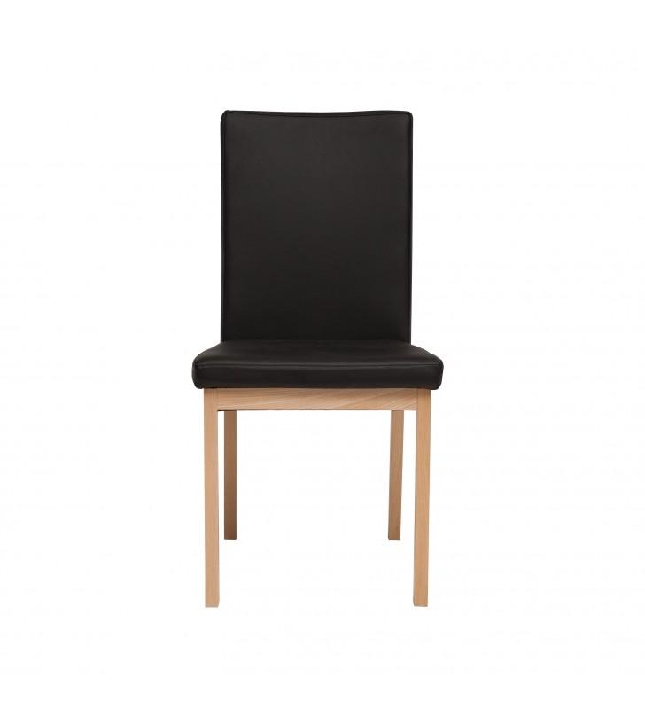 Krzesło bukowe, tapicerowane, KT44