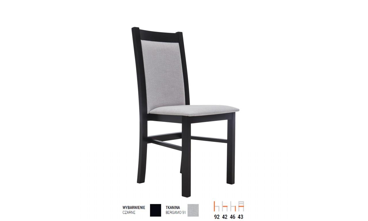 Krzesło bukowe, tapicerowane, KT52