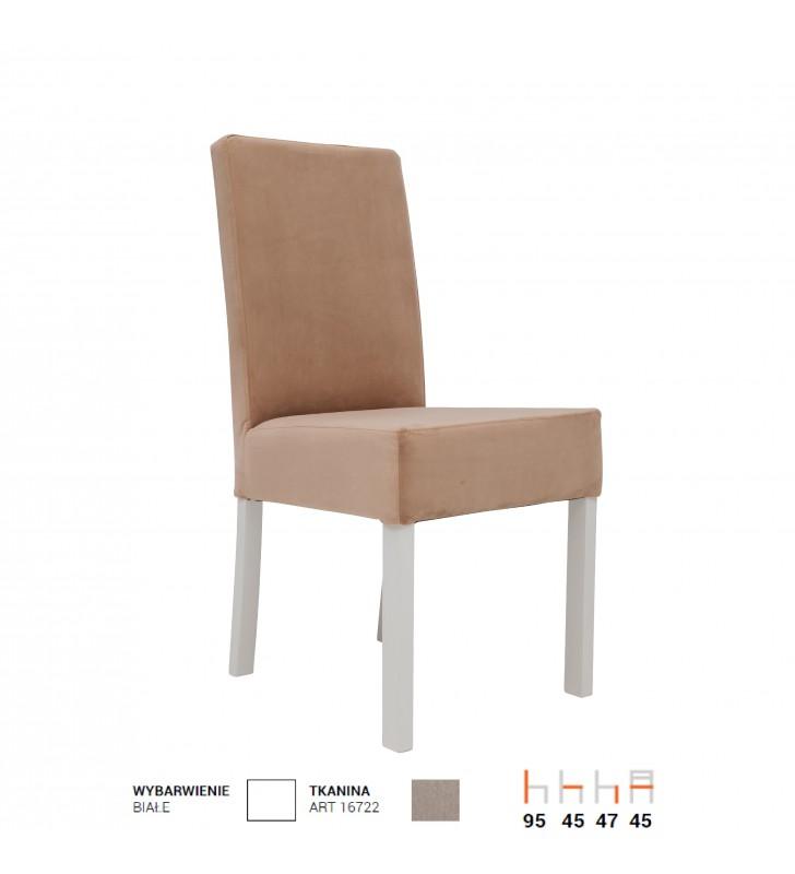 Krzesło bukowe, tapicerowane, KT58