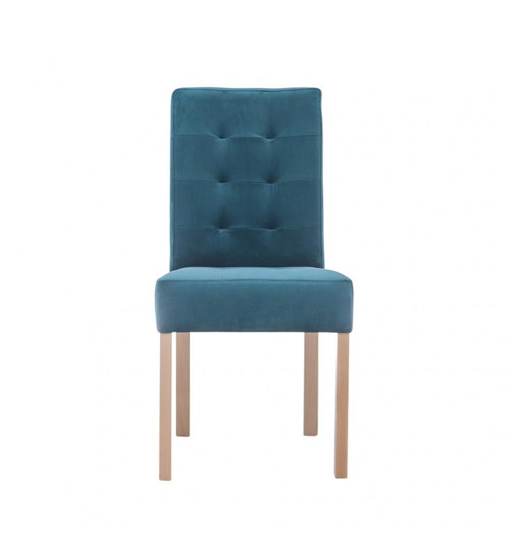 Krzesło bukowe, tapicerowane, KT59