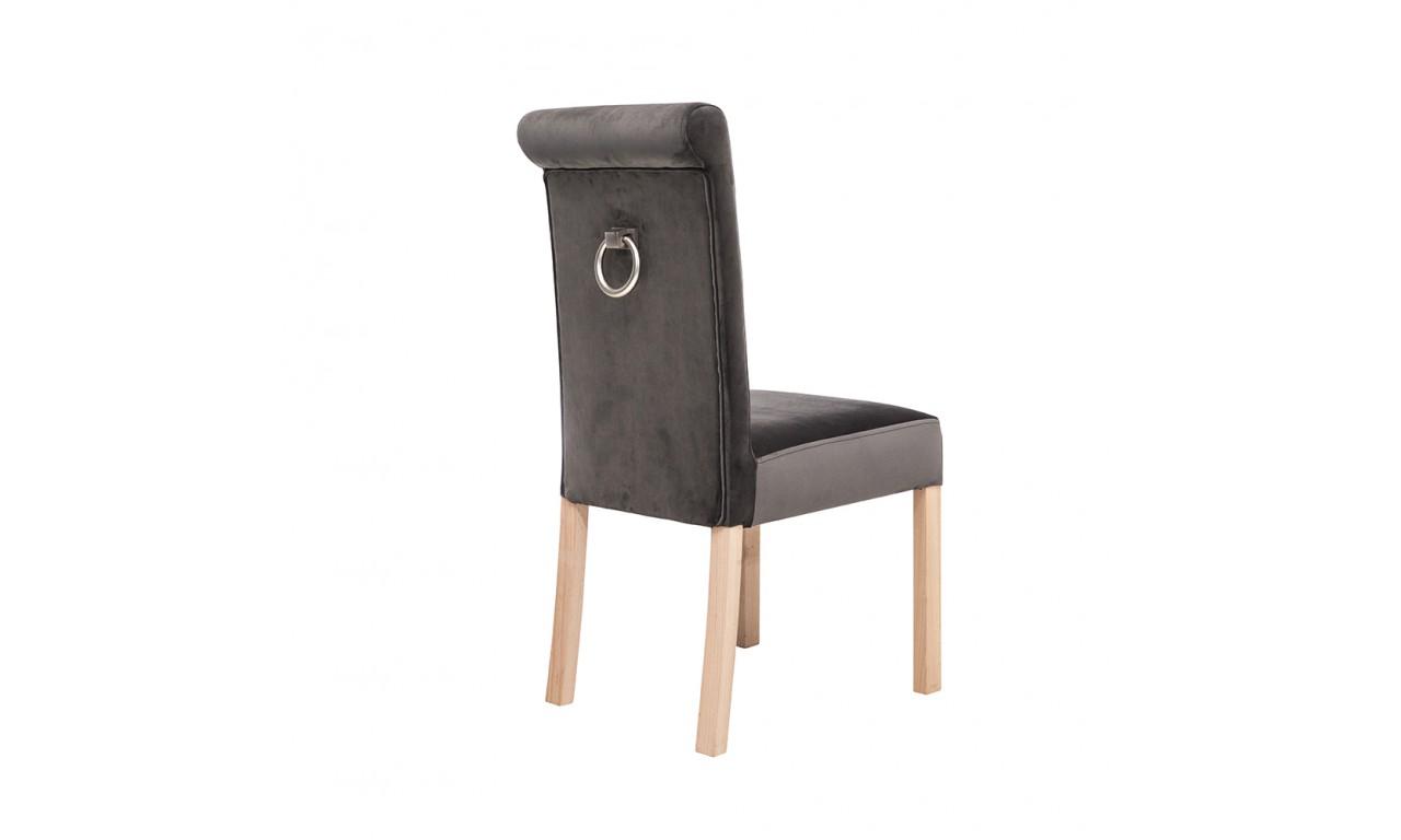 Krzesło bukowe, tapicerowane, KT60