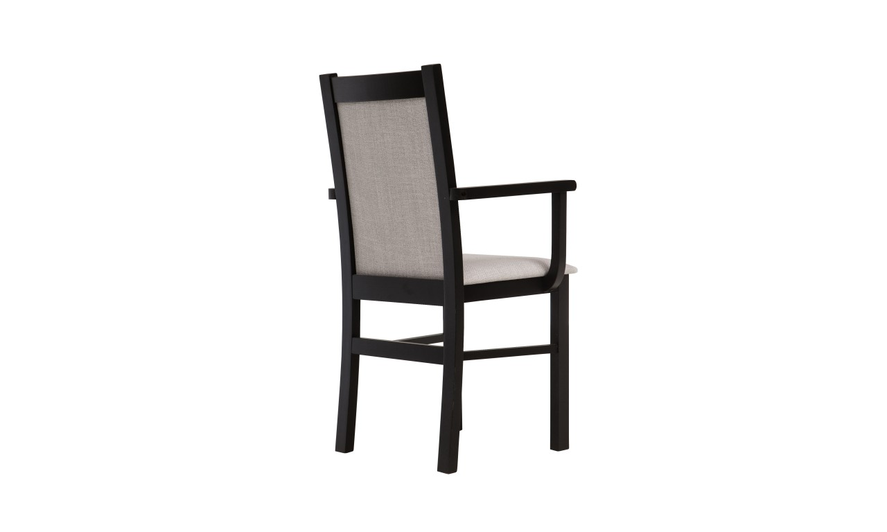 Krzesło bukowe, tapicerowane, F05