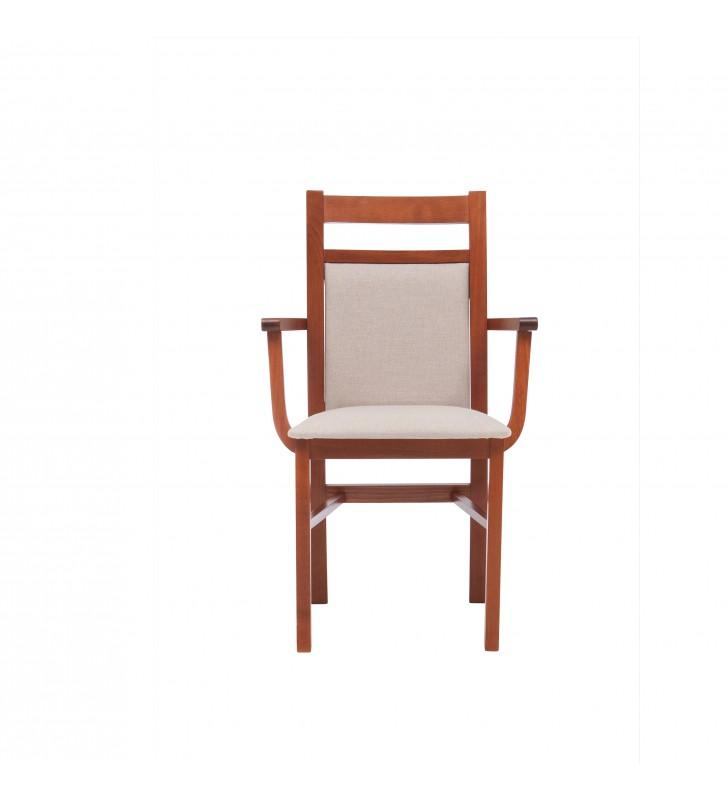 Krzesło bukowe, tapicerowane, F06
