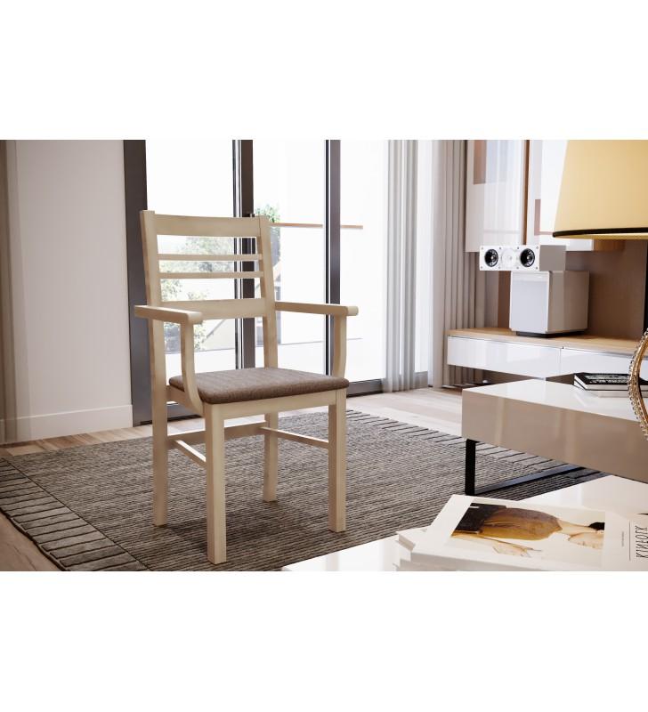 Krzesło bukowe, tapicerowane lub twarde, F03