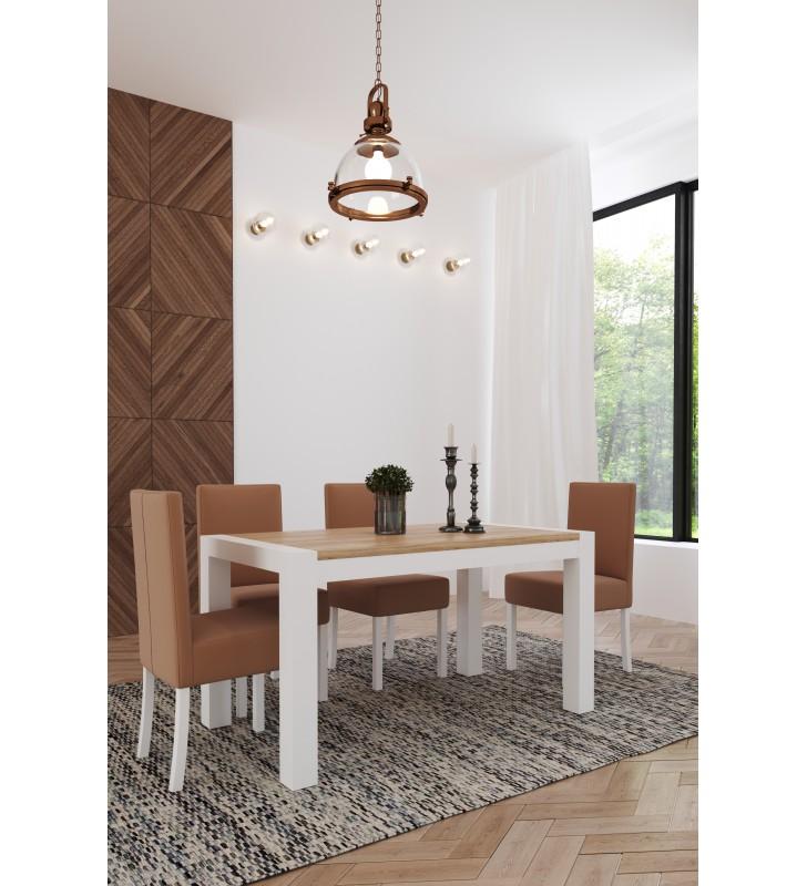 Stół bukowy (80x140), rozkładany, dowolna kolorystyka, ST40/1