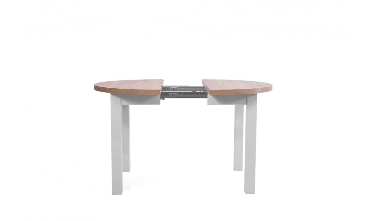 Stół bukowy (śr.100), rozkładany, dowolna kolorystyka, ST52