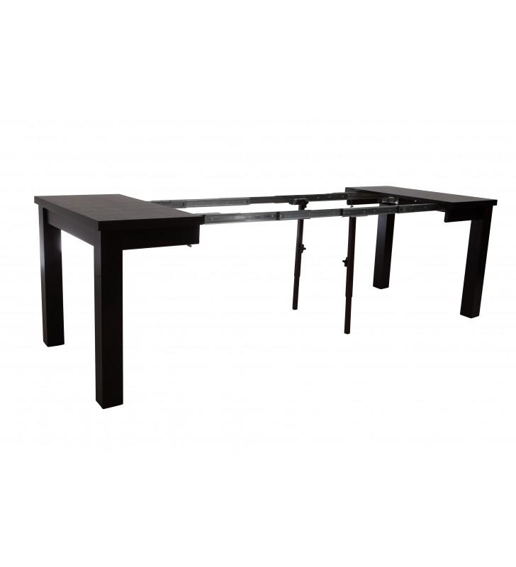 Stół bukowy (90x90), rozkładany, dowolna kolorystyka, ST54