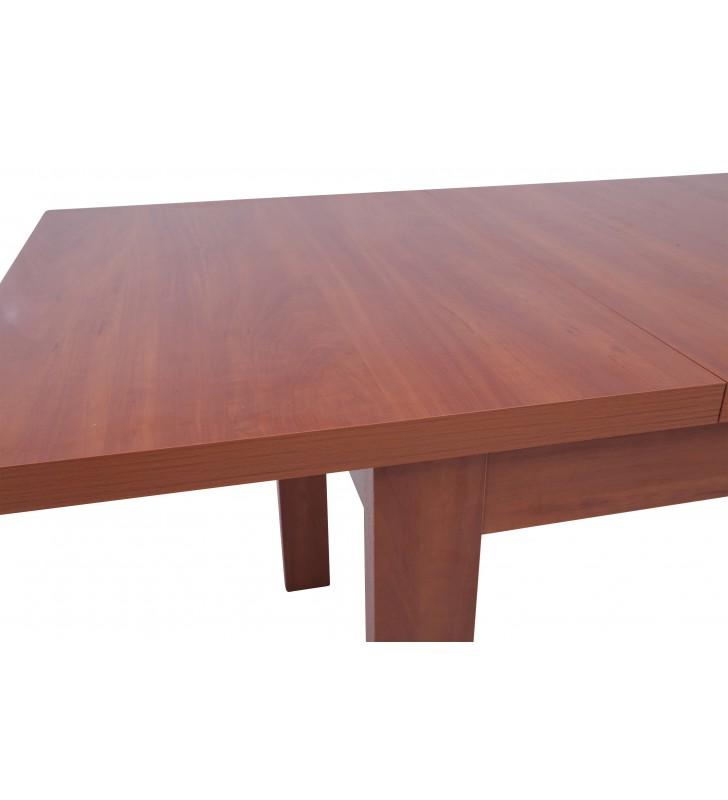 Stół bukowy (80x140), rozkładany, dowolna kolorystyka, ST63/1
