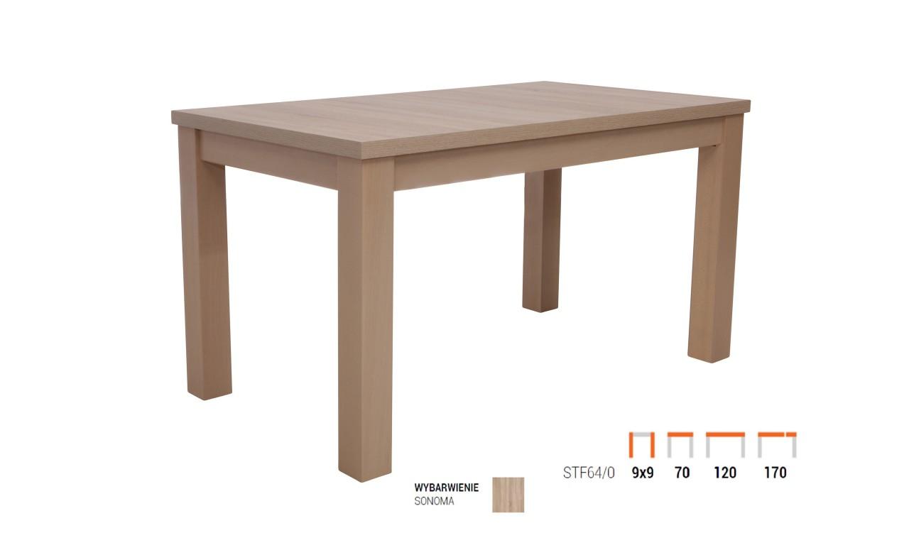 stół do małego pokoju dziennego w bloku