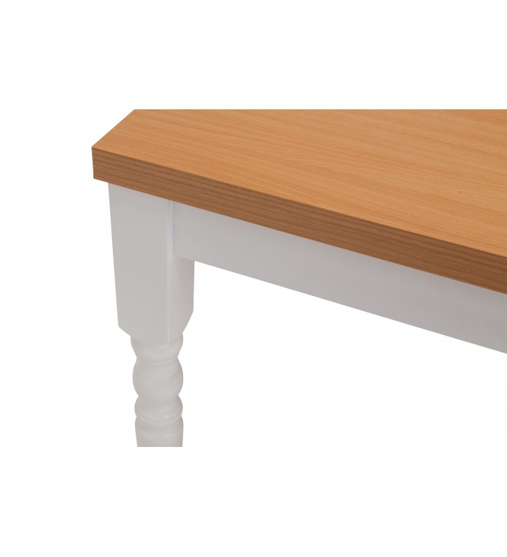 Stół bukowy (80x140), rozkładany, dowolna kolorystyka, ST66/1