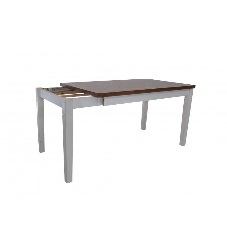 Stół bukowy (80x140), rozkładany, dowolna kolorystyka, ST75