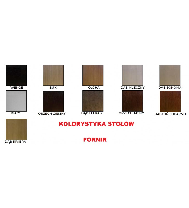 Stół bukowy (80x140), dowolna kolorystyka, ST80