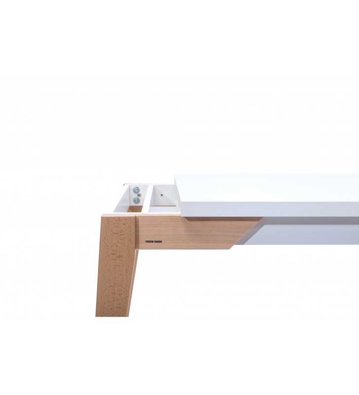 Stół bukowy (80x140), rozkładany, dowolna kolorystyka, ST81