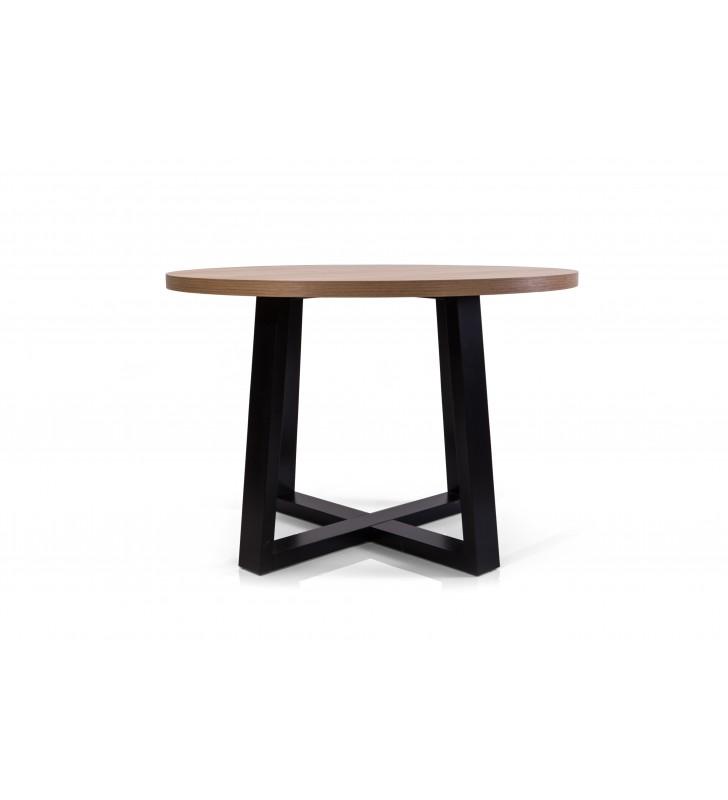 Stół bukowy (śr.110), dowolna kolorystyka, ST91