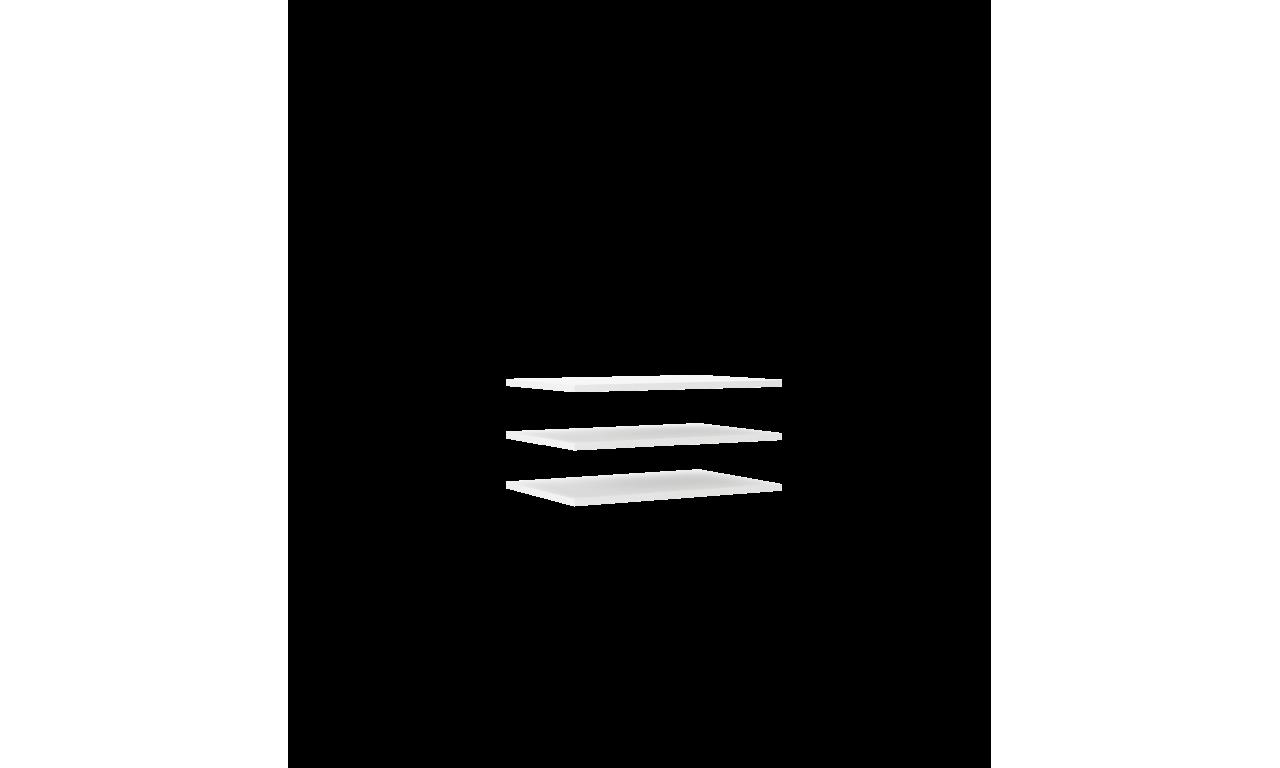 Brązowa szafa przesuwna TREND 130