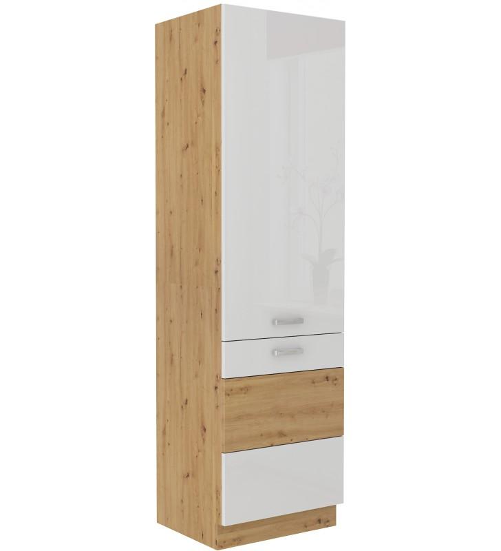 Szafka stojąca ARTISAN biały połysk 60 DK-210 2F