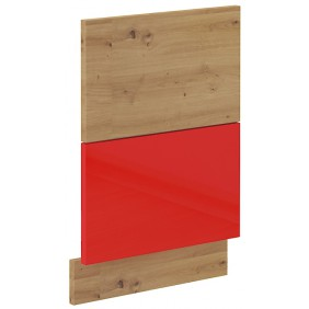 Front zmywarki ARTISAN czerwony połysk ZM 570x446