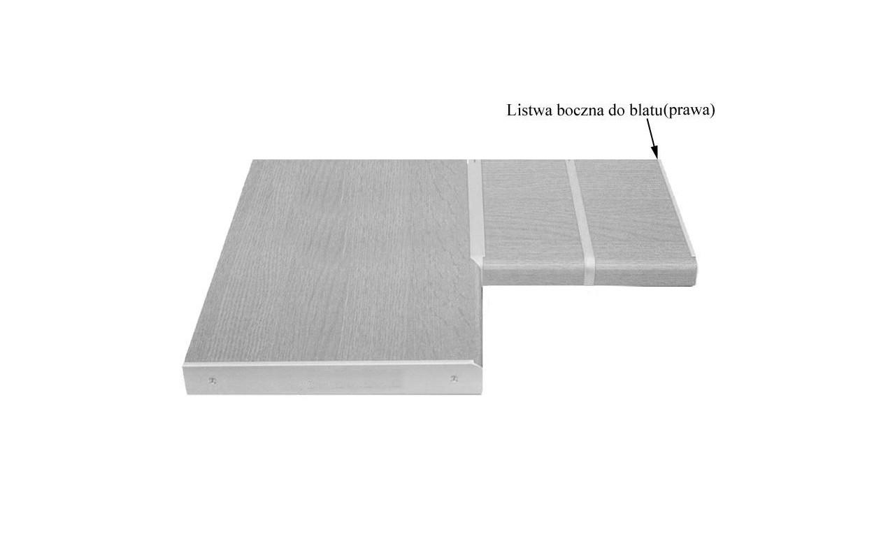 Listwa boczna zakończeniowa (prawa) do blatów 38/600